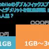 U-mobileのダブルフィックスプランのメリットとデメリットを徹底解説!得する人は?