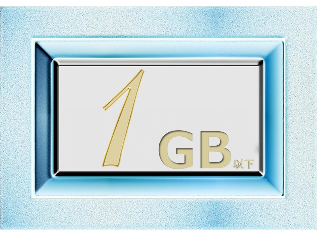 1GBの格安SIMを比較