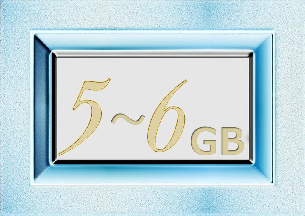 5GB~6GBの格安SIMを比較